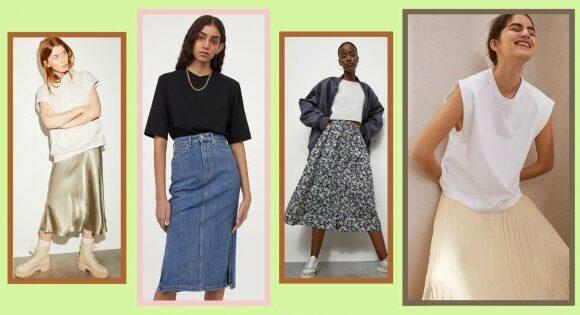 10 jupes longues à shopper chez H&M pour le printemps-été