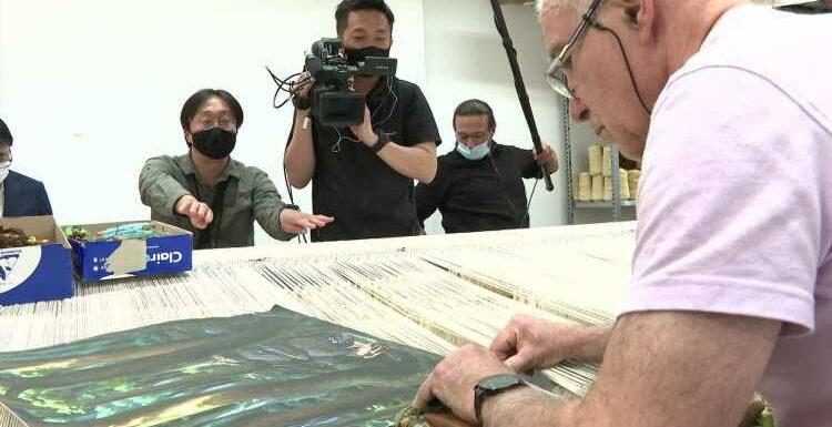 Avec sa série sur Miyazaki, la Cité de la tapisserie d'Aubusson attire la télévision japonaise