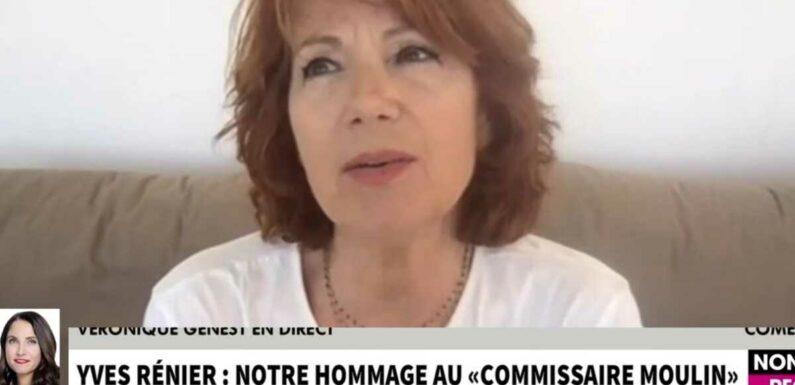 """Décès de Yves Rénier : Véronique Genest rend hommage à son ami, """"un mec complètement génial"""" (VIDEO)"""