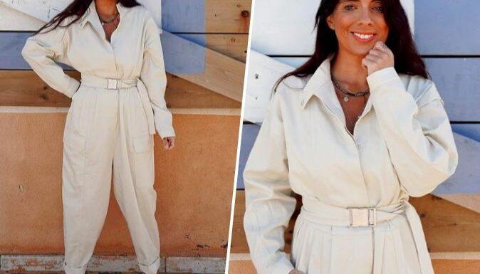 Doris Blanc Pin : sa combinaison blanche, parfaite pour l'été est encore disponible !