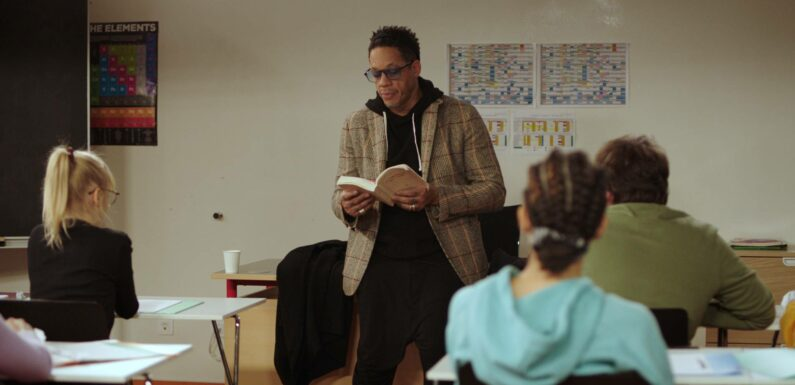 «J'adore l'idée de jouer un prof», confie JoeyStarr