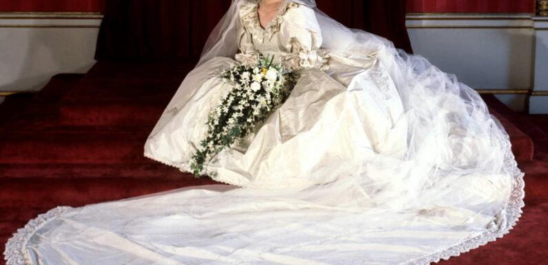 La robe de mariée de Lady Di sera exposée à Londres cet été