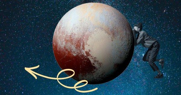 Pluton rétrograde pour six mois: attention, ça va secouer!