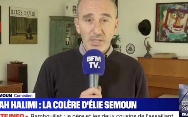 VIDEO Affaire Sarah Halimi: le message de soutien d'Elie Semoun à Arthur menacé de mort