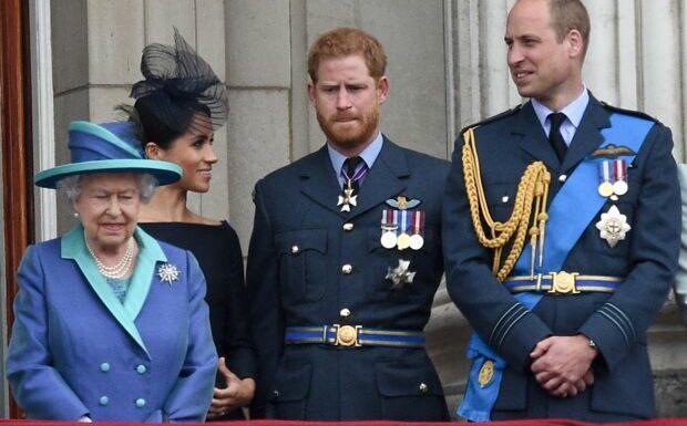 William et Harry tenus à bonne distance… la reine ne l'a pas décidé seule