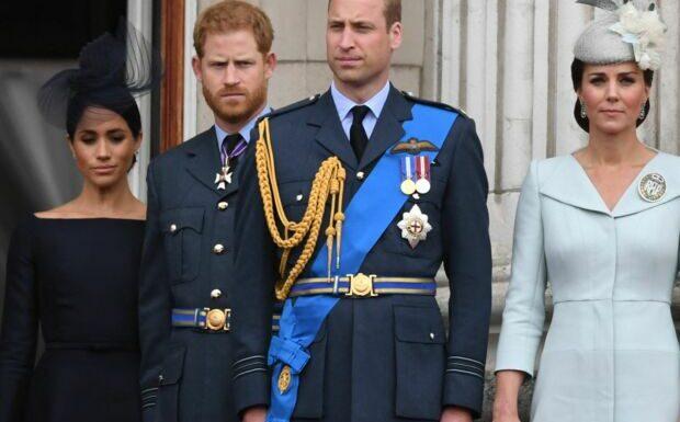 William assomme son frère Harry de reproches: pas touche à la famille!