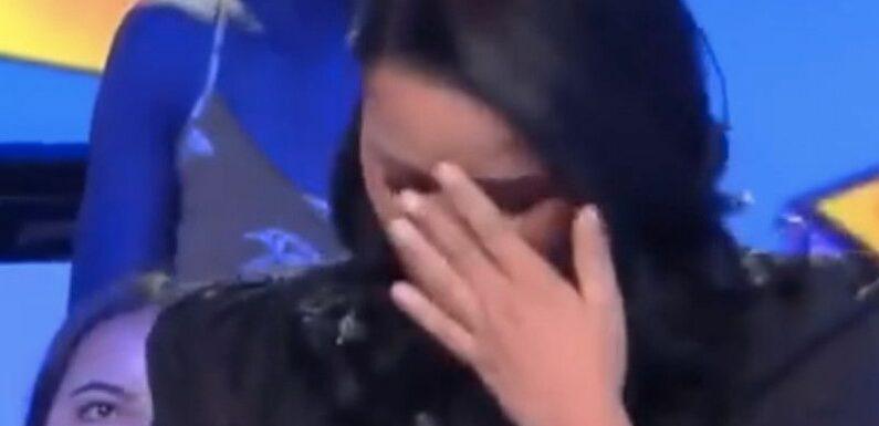 """""""Je vais m'ouvrir les veines"""" : Sarah Fraisou révèle avoir imaginé le pire et craque complètement sur le plateau de TPMP"""