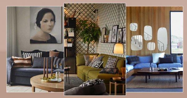 8 inspirations à copier pour décorer le mur au-dessus du canapé!