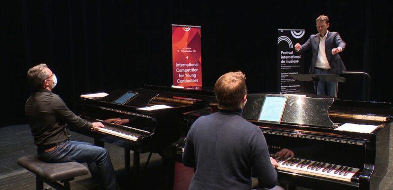 À Besançon, des candidats du monde entier pour le 57e concours de jeunes chefs d'orchestre