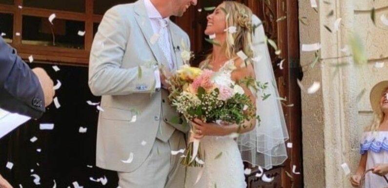 Alain Bernard marié : L'ancien nageur a épousé Faustine
