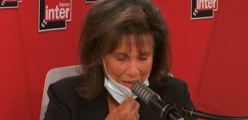 """Anne Sinclair face à une auditrice en larmes sur France Inter : """"Votre voix étranglée me touche et me fait du bien"""" (VIDEO)"""