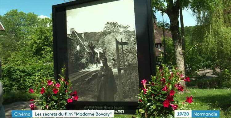 """Bicentenaire de Flaubert : les photos de tournage des adaptations de """"Madame Bovary"""" exposées à Lyons-la-Forêt"""