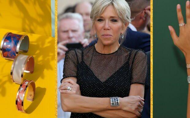 Brigitte Macron: focus sur ses célèbres manchettes Les Georgettes