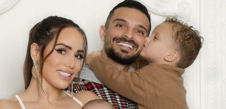 Julien Tanti heureux en famille, il fait une belle déclaration à Manon Marsault, Tiago et Angelina