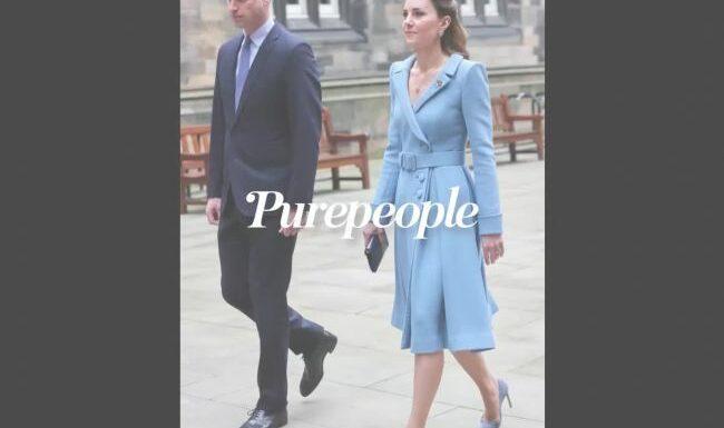 Kate Middleton au comble de l'élégance en bleu, fin de tournée avec William