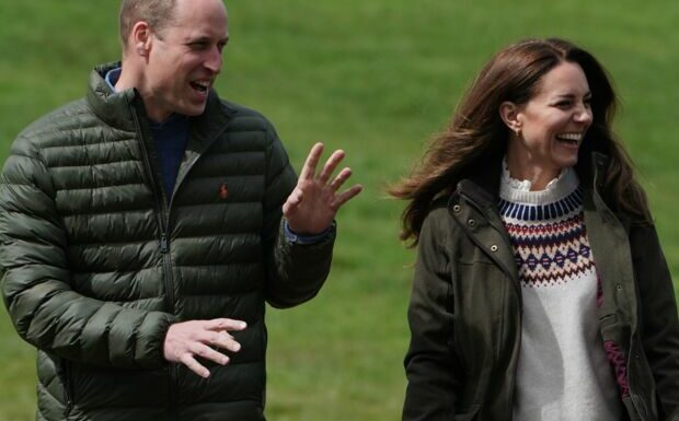 Kate et William: complices et radieux, les époux s'affrontent pour la bonne cause