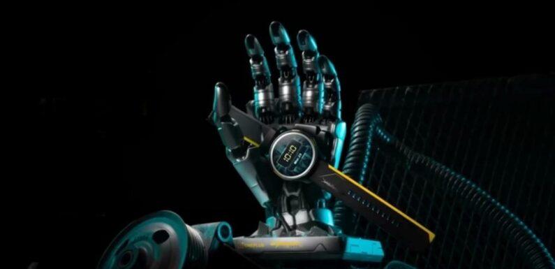 La OnePlus Watch se dote d'une version Cyberpunk 2077