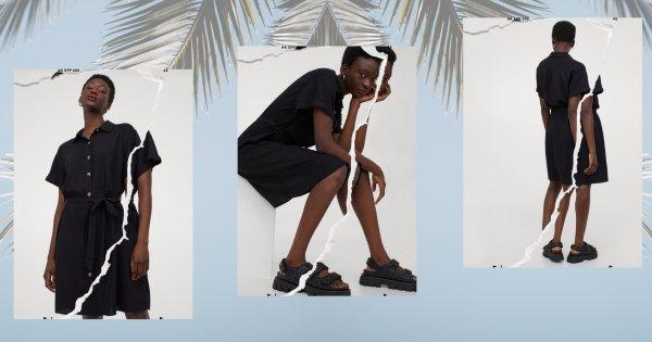 La petite robe noire parfaite pour l'été à moins de 30 euros