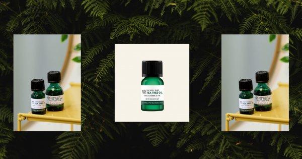 L'huile d'arbre à thé The Body Shop: Antidote pour lutter contre les imperfections