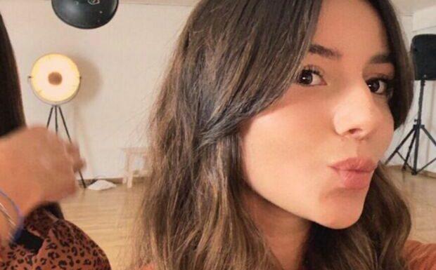 PHOTO Alizée: la chanteuse valide le tatouage de sa fille Annily Chatelain