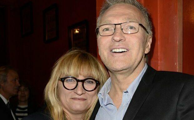 PHOTO Christine Bravo bel et bien réconciliée avec Laurent Ruquier, cet amusant cadeau qui en témoigne