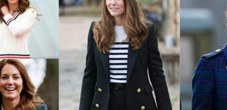 PHOTOS – Kate Middleton : ses plus beaux looks en Ecosse avec William