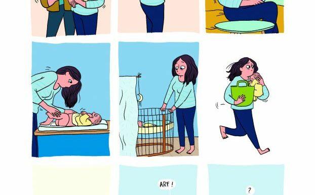 """""""La Remplaçante"""", la BD drôle et touchante sur la réalité du post-partum"""