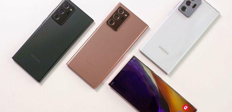 Bon Plan Samsung Galaxy Note 20 : L'un des meilleurs smartphones du marché en baisse de 32%