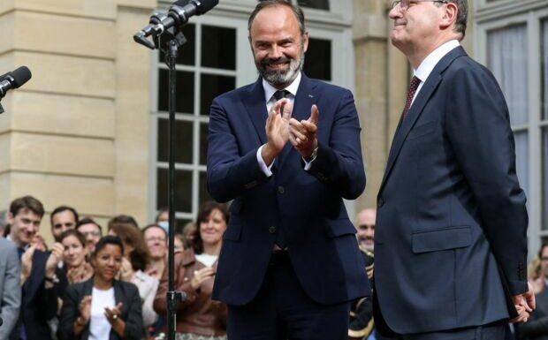 Edouard Philippe de retour à l'Elysée: Jean Castex grand absent