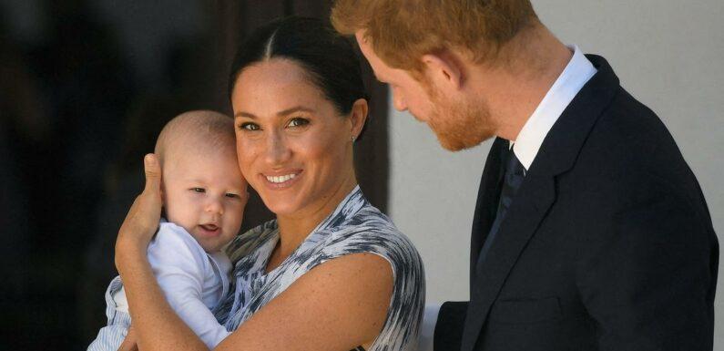 Les enfants de Meghan et Harry seront princesse et prince, mais seulement quand Charles sera roi