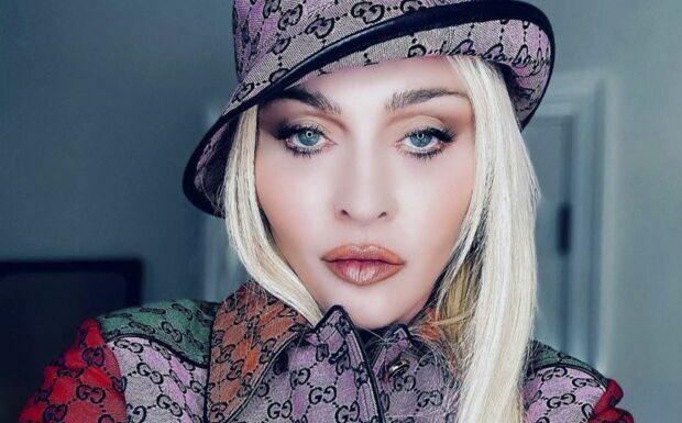 PHOTO Madonna plus sexy que jamais en lingerie en cuir, la star affole la Toile
