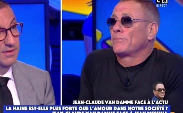 VIDÉO – «Je vous aime»: débat lunaire entre Jean-Claude Van Damme et Jean Messiha