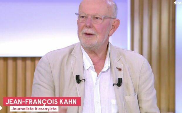 VIDEO Axel Kahn atteint d'un cancer: son frère Jean-François Kahn donne de ses nouvelles dans C à vous
