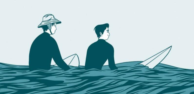 """""""In Waves"""", la BD sur le surf qui déferle de beauté"""
