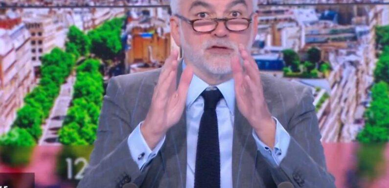 """""""Pourquoi je rends l'antenne ??"""" Très surpris, Pascal Praud obligé d'arrêter son émission après seulement 30 secondes ! (VIDEO)"""