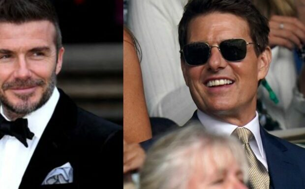 Euro 2021: David Beckham et Tom Cruise à un siège d'écart dans les tribunes d'Angleterre-Italie, les internautes s'enflamment