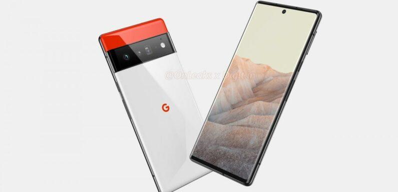Google Pixel 6 & 6 Pro : Leurs fiches techniques complètes en fuite