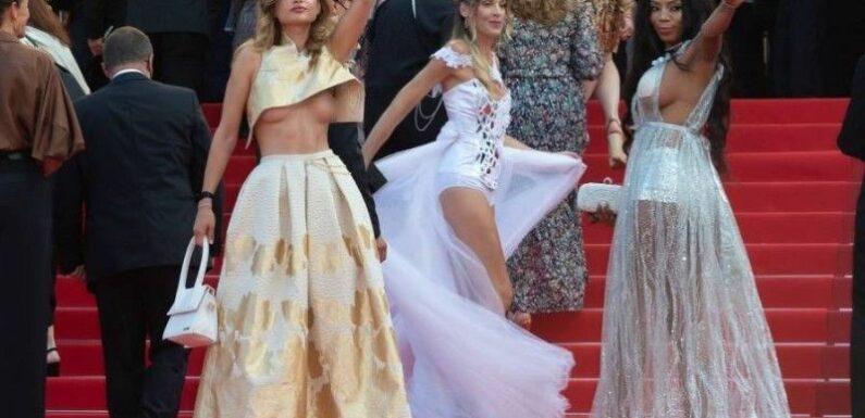 Marion Cotillard : Sa montée sur le tapis rouge gâchée par la présence d'une influenceuse à la poitrine complètement dénudée…