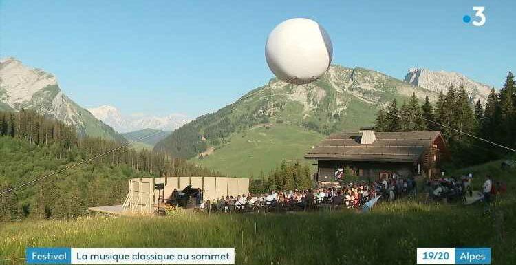 Musique à Beauregard : la magie des concerts en altitude et en plein air, avec le Mont-Blanc en décor naturel