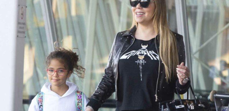 PHOTO – Mariah Carey : sa fille Monroe déjà mannequin à 10 ans