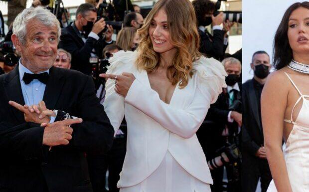 PHOTOS Festival de Cannes 2021: Adèle Exarchopoulos incendiaire dans une robe dos nu, Louise Boujenah ose le décolleté