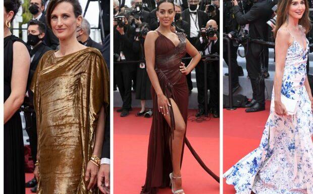 PHOTOS Festival de Cannes 2021: Camille Cottin ose le dos nu, Georgina Rodriguez et sa robe fendue, Elsa Zylberstein sexy avec son décolleté
