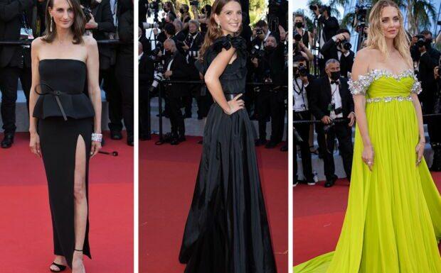 PHOTOS Festival de Cannes 2021: Camille Cottin radieuse en robe fendue, Joséphine Japy élégante en noir et Chiara Ferragni éblouissante avec sa longue traine