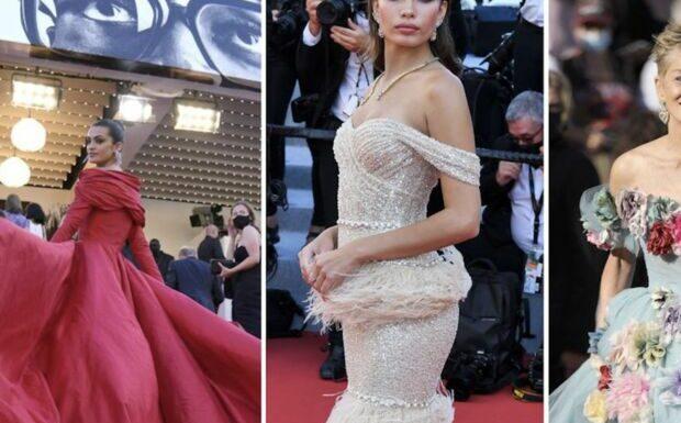 PHOTOS Festival de Cannes 2021: Sharon Stone pétillante en robe à fleurs, Marta Lozano renversante en rouge, Hana Cross originale et sensuelle