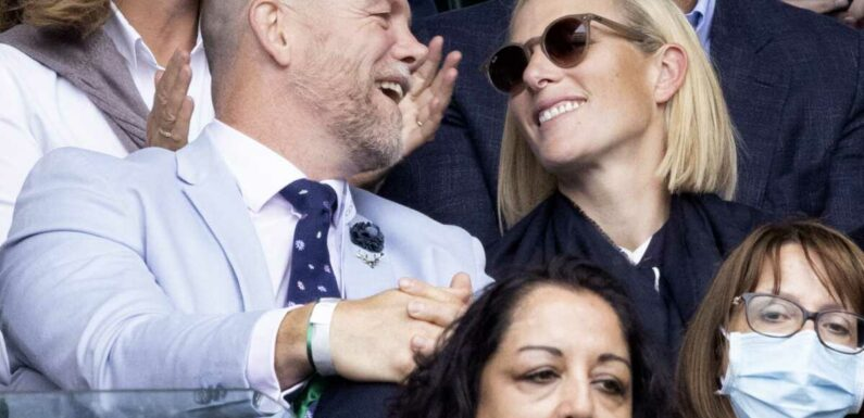 PHOTOS – Zara Phillips et Mike Tindall : les amoureux de Wimbledon