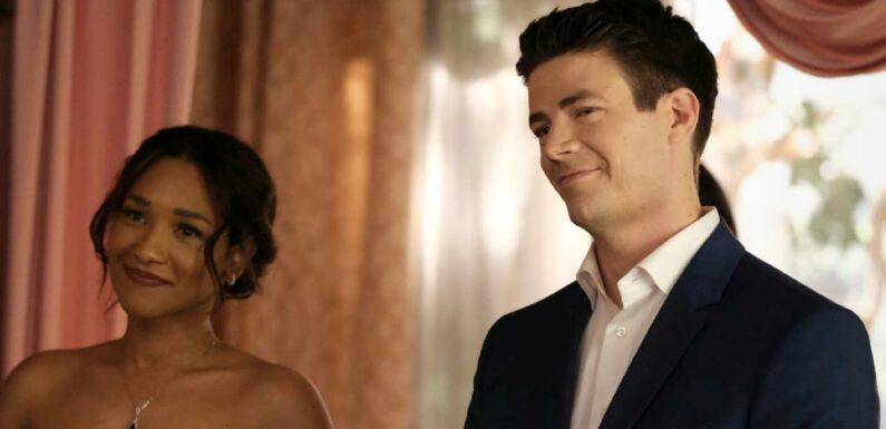 The Flash saison 7 : Episode 18, Barry et Iris renouvellent leur voeux sur les photos promo du Season Finale