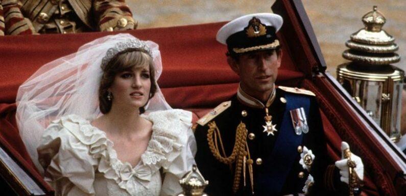 Une part du gâteau du mariage de Lady Diana et du prince Charles datant de 40 ans a été mise en vente aux enchères