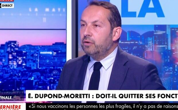VIDEO – Eric Dupond-Moretti «reparti la culotte sur la tête»: Sébastien Chenu ose une familiarité