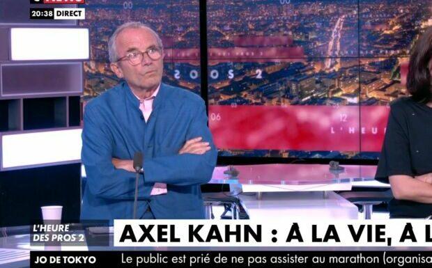VIDÉO – Mort d'Axel Kahn: émotion sur le plateau de Pascal Praud