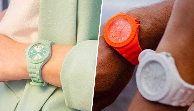 Wanted : la montre Ice Generation aux couleurs pastel et flashy